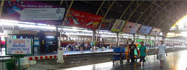 Bangkok Hua Lamphong train terminal