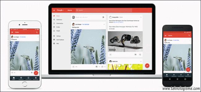 Google Memperkenalkan Tampilan Baru Google Plus