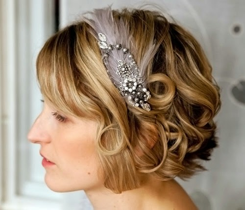 Wedding hairstyles for short hair | Wedding Concept Ideas
