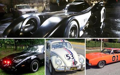 Τηλεοπτικά και κινηματογραφικά αυτοκίνητα που δεν θα ξεχάσουμε