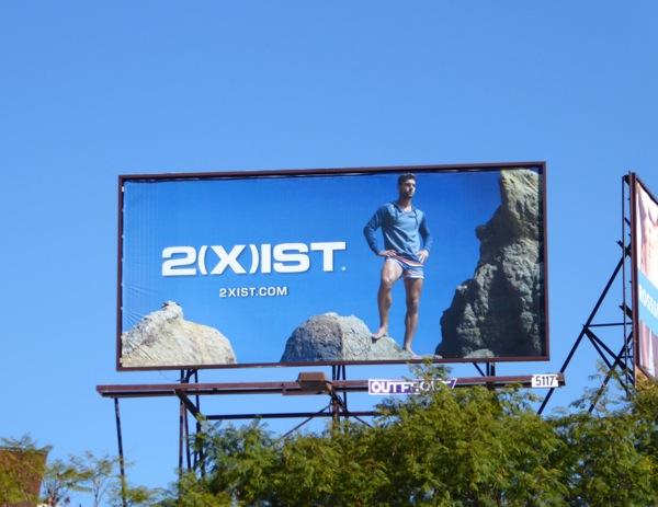 2Xist Spring 2016 billboard