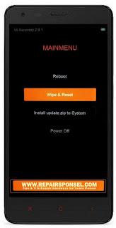 Cara Hard Reset Xiaomi Redmi 2