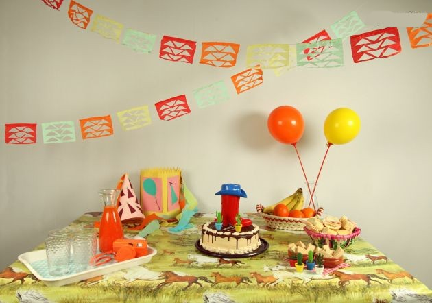 Guirnaldas Para Fiestas Manualidades Para Adornar Hago - Guirnaldas-para-fiestas-infantiles