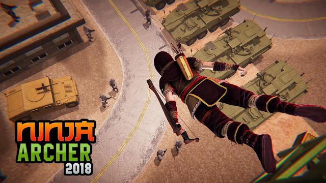 Ninja Archer Assassin FPS Shooter Apk-appzmod