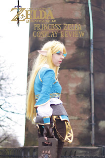 Review Breath Of The Wild Princess Zelda Cosplay Ribekitty