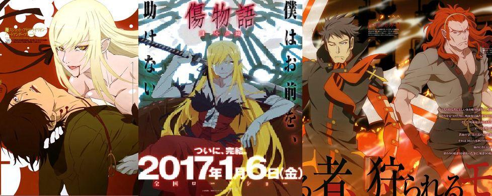06.01.2017-Jepang| Kizumonogatari Part 3: Reiketsu