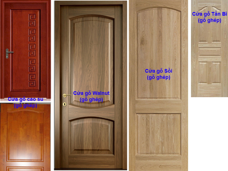 Ghép gỗ làm cánh cửa