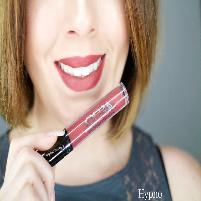 Ofra x MannyMua Hypno liquid lipstick, @girlythingsby_e