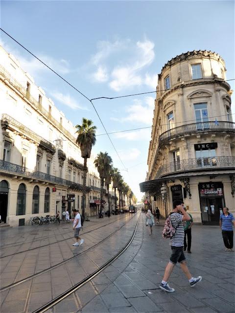Montpellier, calles