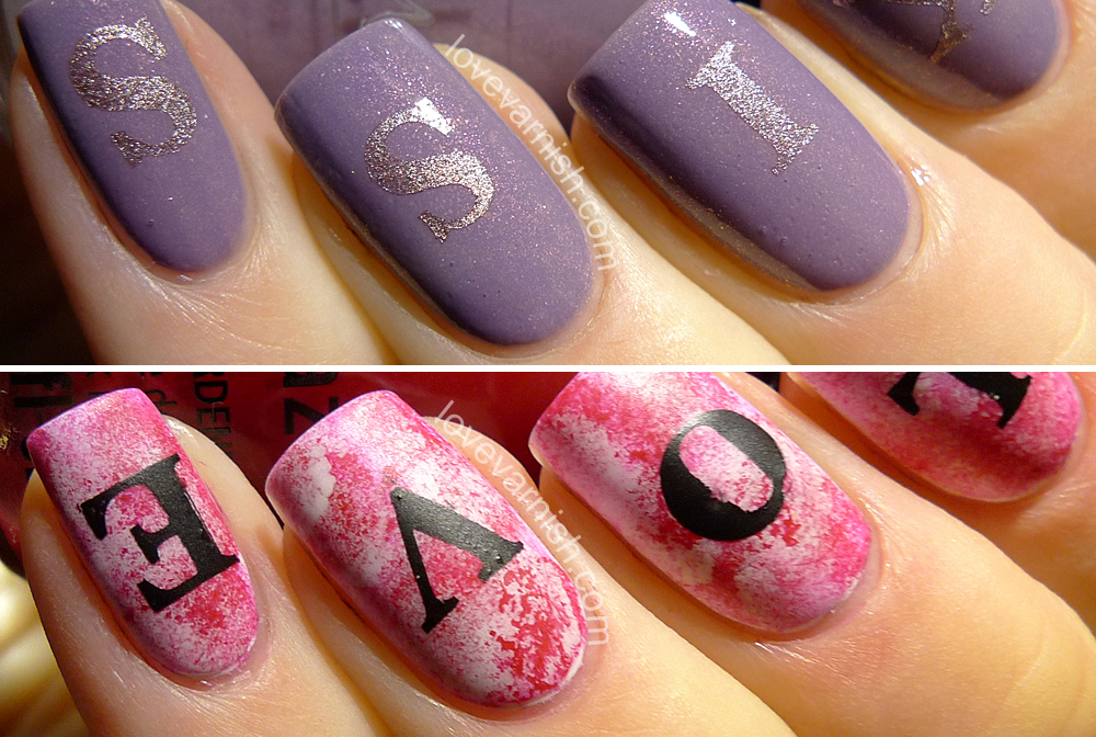Love Varnish Nail Art Review Whats Up Nails Love Letters