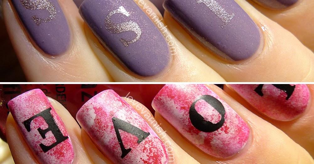 love varnish  nail art  u0026 review      whats up nails love