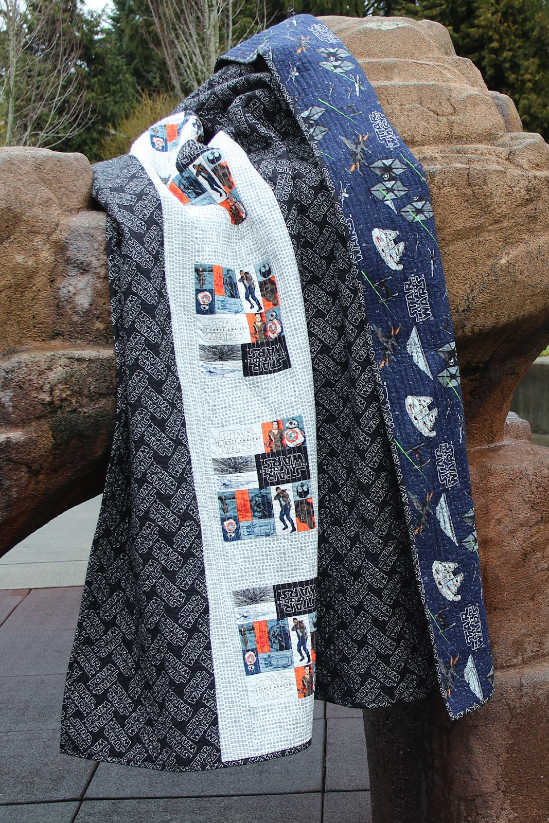 Fort Worth Fabric Studio Star Wars Quilt Free Pattern