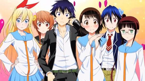 Anime Comedy Romance Nisekoi