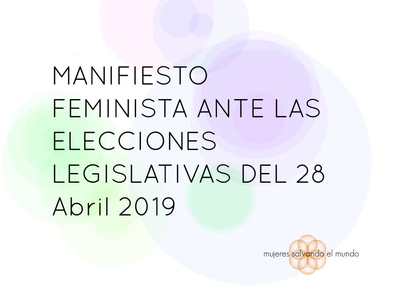 #28AlasfeministasVotamos - Blog hablamos de mujeres