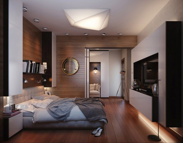 Travel Inspired Guest Room: Fresh Design: Cozy, Modern And Practical Bedroom With A