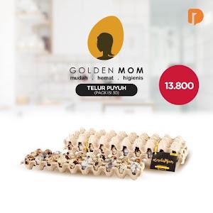 Golden Mom Telur Burung Puyuh Isi 30 Butir