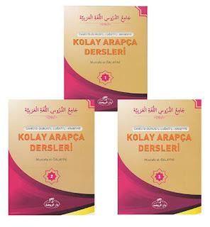Kolay Arapça Dersleri-3 Kitap Takım