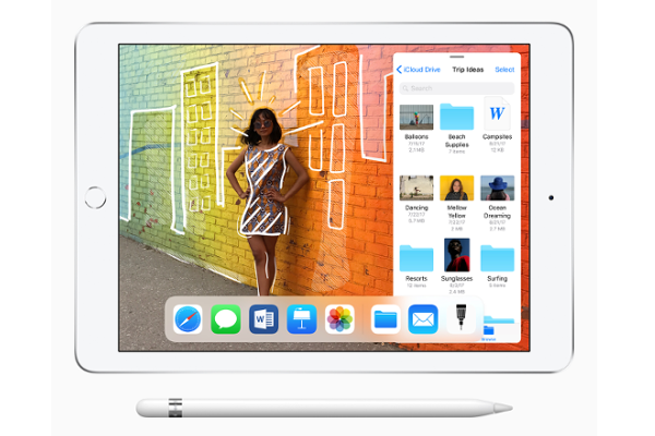 Apple debuts new 9.7-inch iPad with Apple Pencil support