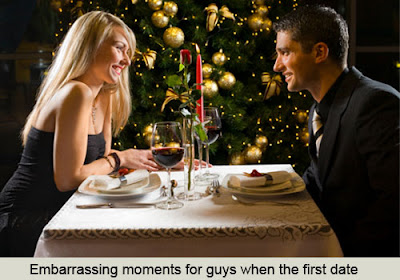 Embarrassing moment first date