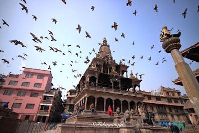 ネパール パタンのダルバール広場