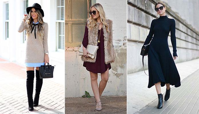 9175f495fb68 Πως να φορέσετε ένα φόρεμα τον Χειμώνα. - Femalevoice.gr