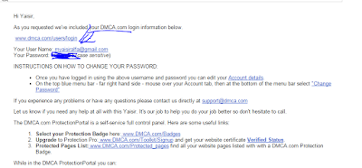Membuat Artikel Aman dari Copy Paste dengan DMCA
