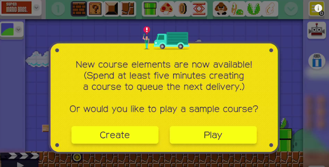 Super Mario Maker new course elements are now available