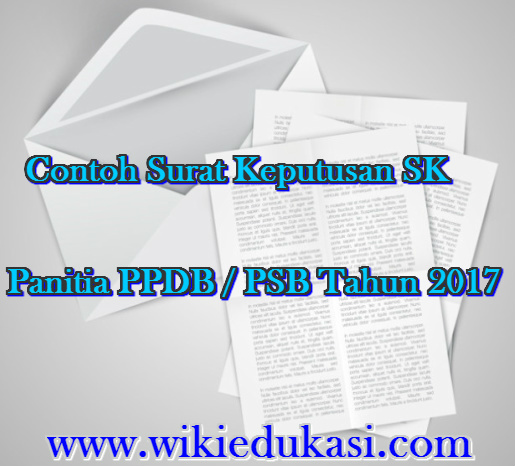 SK Panitia PPDB/PSB