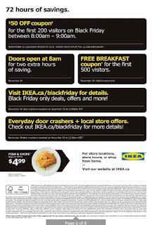 IKEA Flyer The Dining Event valid November 24 - 26, 2017 Black Friday