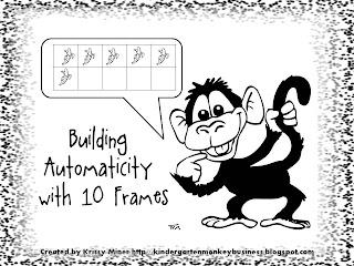 Mrs. Miner's Kindergarten Monkey Business: Fulfill the