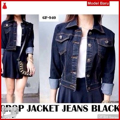 GFSH2199219 Setelan Gf Jacket Terbaru Crop Jeans BMG