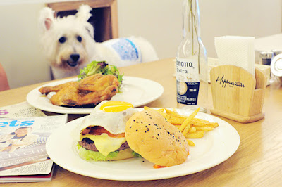 dog friendly cafes singapore