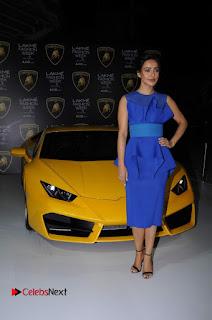 Actress Neha Sharma Latest Stills in Blue Dress at Lakme Fashion Week Summer Resort 2017  0016.jpg
