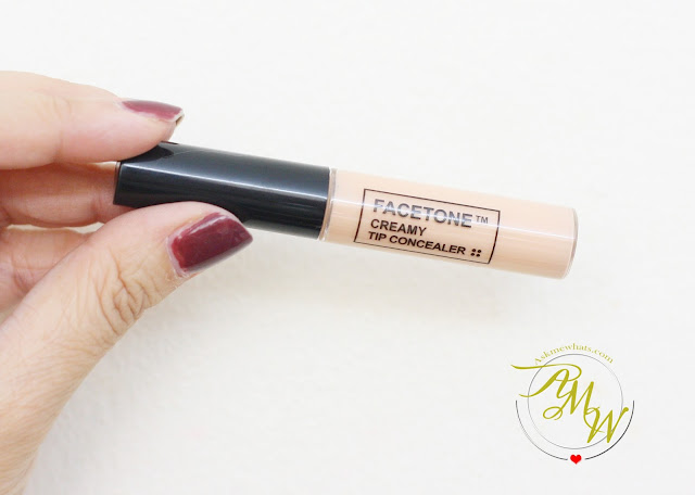 a photo of Tony Moly FACETONE Creamy Tip Concealer Review in shade P01 Pink Beige