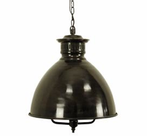 French Industrial Pendant Light