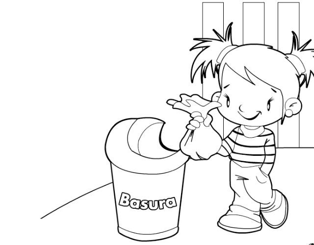 Contaminacion Del Aire Para Colorear Dibujos De