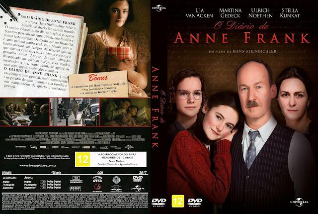 Capa DVD O Diário de Anne Frank [Custom]
