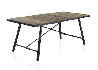 mesa comedor y bodega forja madera