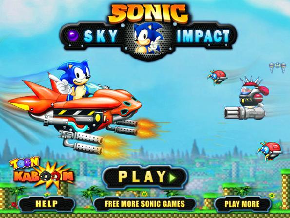 Sonic phiêu lưu bầu trời