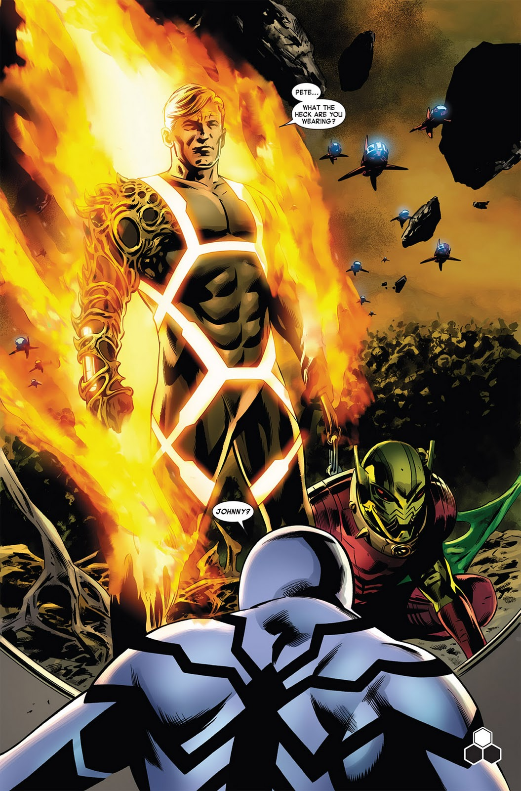 Human Torch Fantastic Four