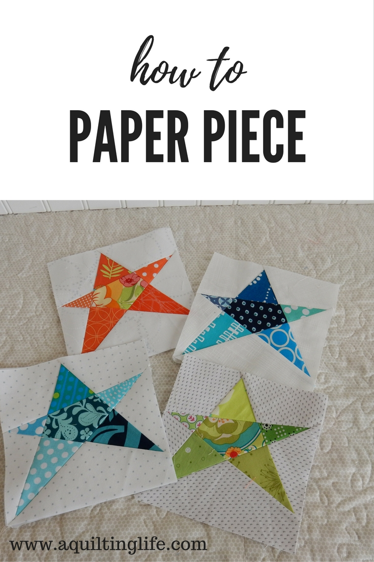 paper piecing quilts Paper piecing allows you to get close to perfect quilt blocks it is a process that  allows you to join multiple pieces, weird shapes, small pieces.