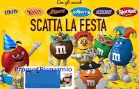 Logo M&M's concorso ''Scatta la Festa'' e vinci 29 Polaroid Mint