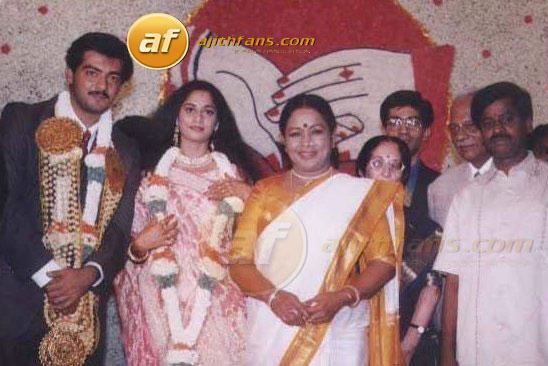 Ajith And Shalini Tamil Actress Wedding Photos She Child Artist They Are Marraige L Hasan Rajani Nazar Manorama