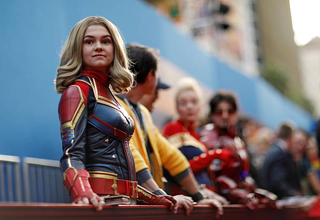 Captain Marvel Raup Keuntungan $153 Juta