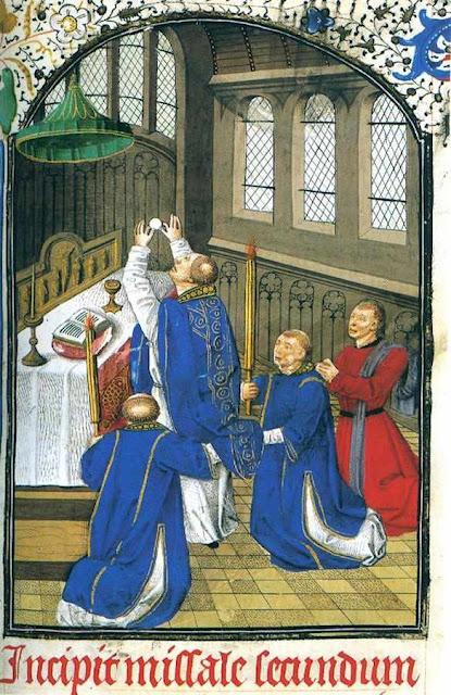 Missa. Missal de Jean Rolin, século XV