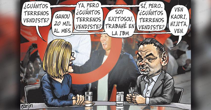 Carlincaturas Jueves 18 Octubre 2018 - La República