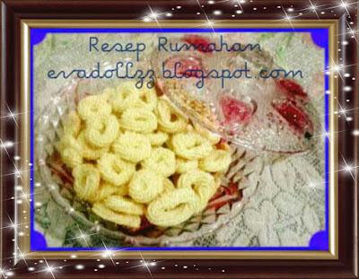 Resep Kue Kering Sagu Kelapa