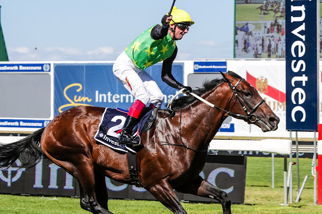 Edict of Nantes - Horse Racing - South Africa - Durban July - Trained by Brett Crawford