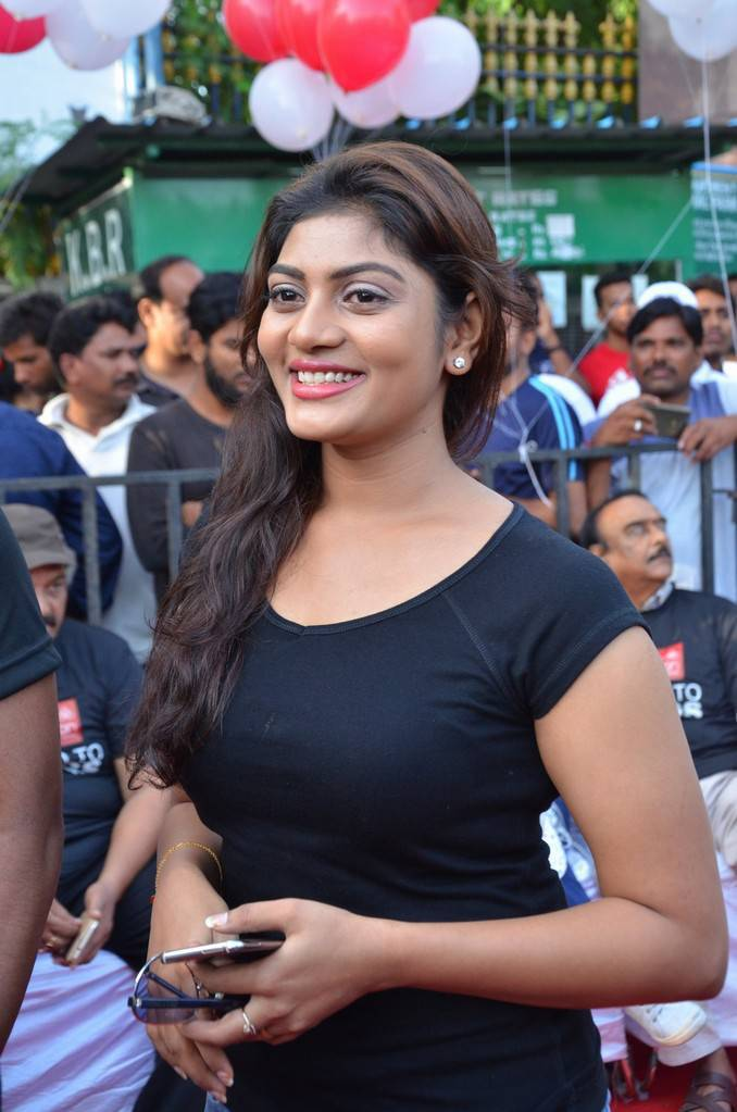 Soumya At Anti Drug Walk Campaign Event Gallery