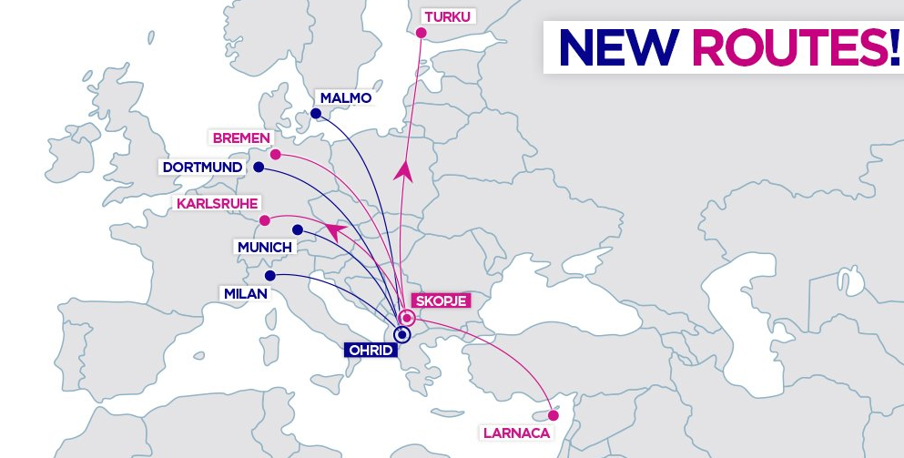 Wizz Air Unveils Macedonia Expansion
